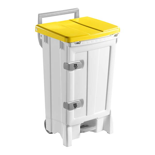 PATTUMIERA OPEN-UP BEIGE LT. 90 C/PORTA COP.GIALLO